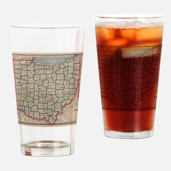 Cute Ohio Drinking Glass