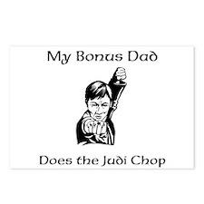 My Bonus Dad Does the Judi Chop Postcards (Package