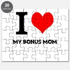 I Love My Bonus Mom Puzzle