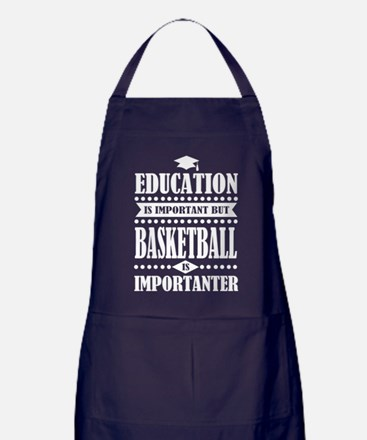 education is important but basketball is important
