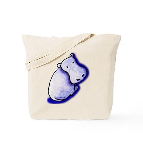 KiniArt HIPPO Tote Bag