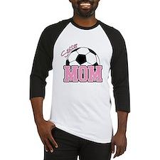 Cute Soccer mom Baseball Jersey