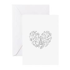 Paris Love Greeting Cards