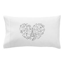 Paris Love Pillow Case
