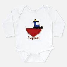 Unique Tug Long Sleeve Infant Bodysuit