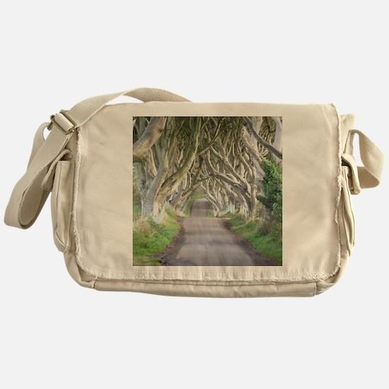 DARK HEDGES, IRELAND Messenger Bag