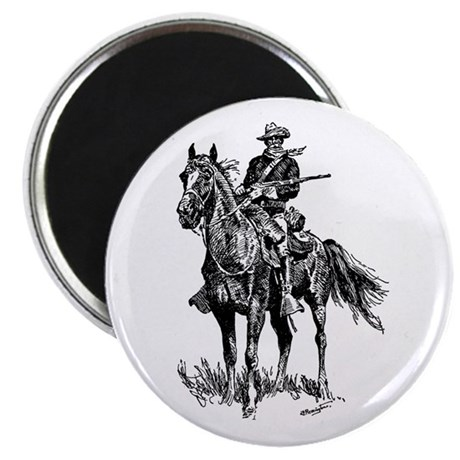 """Old Bill Cavalry Mascot 2.25"""" Magnet (100 pack)"""