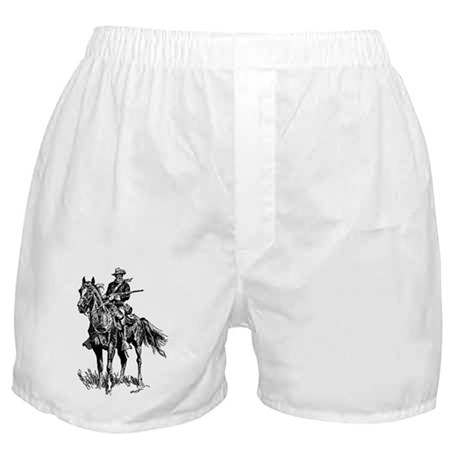 Old Bill Cavalry Mascot Boxer Shorts
