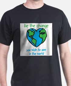 Cute Be the change T-Shirt