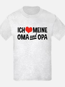 Ich Liebe Meine Oma Und Opa T-Shirt