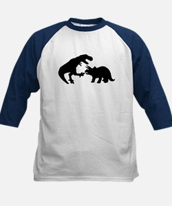 Tyrannosaur and Triceratops b Tee