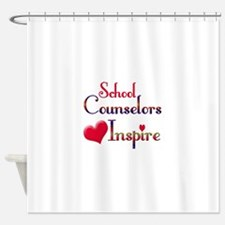 School Counselor Shower Curtain