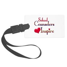 School Counselor Luggage Tag