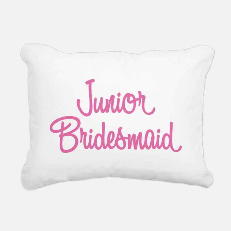 Junior Bridesmaid Rectangular Canvas Pillow