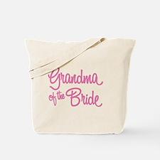 Grandma of the Bride Tote Bag