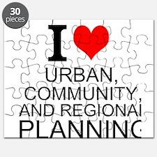 I Love Urban, Community, And Regional Planning Puz
