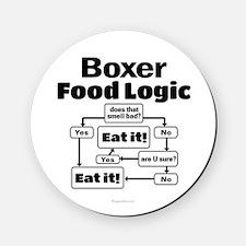 Boxer Food Cork Coaster