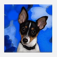 Rat Terrier Dog Tile Coaster