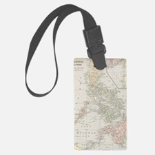 Unique Geographical Luggage Tag