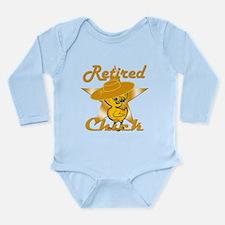 Retired Chick #10 Long Sleeve Infant Bodysuit
