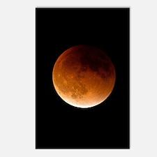 Unique Lunar eclipse Postcards (Package of 8)