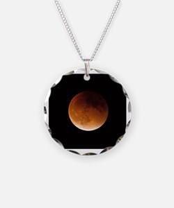 Funny Lunar eclipse Necklace