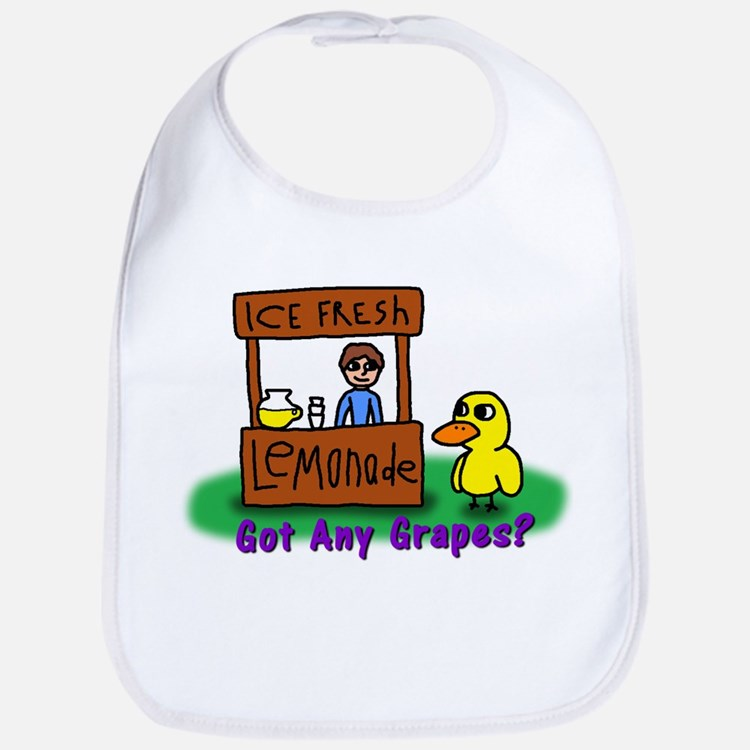 Cute Duck Bib