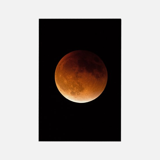 Lunar eclipse Rectangle Magnet