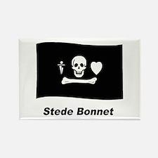 Pirate Flag - Stede Bonnet Rectangle Magnet