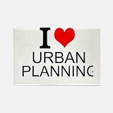 I Love Urban Planning Magnets