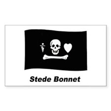 Pirate Flag - Stede Bonnet Rectangle Decal