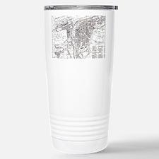 Funny I love prague Travel Mug