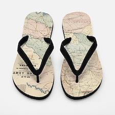 Cool American history Flip Flops