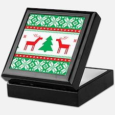 Ugly Christmas Sweater Keepsake Box
