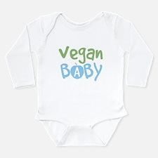 Vegan baby Long Sleeve Infant Bodysuit