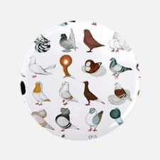 36 Pigeon Breeds Button
