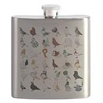 36 Pigeon Breeds Flask