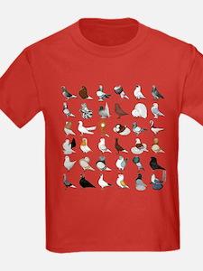 36 Pigeon Breeds T