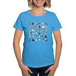 36 Pigeon Breeds Women's Dark T-Shirt