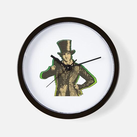 Funny Dressy Wall Clock