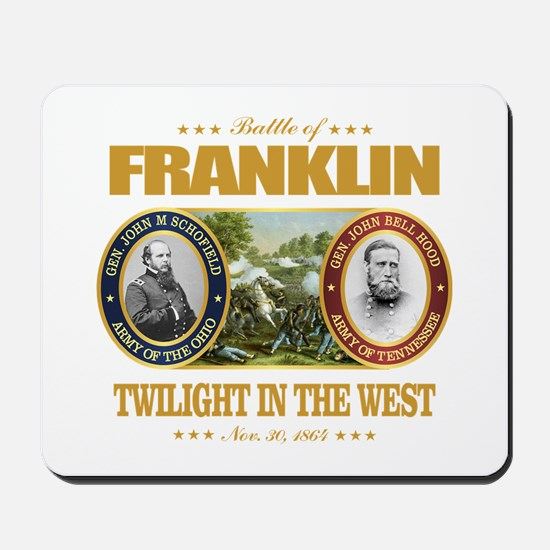 Battle of Franklin (FH2) Mousepad