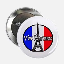 "Vive la France 2.25"" Button (10 pack)"