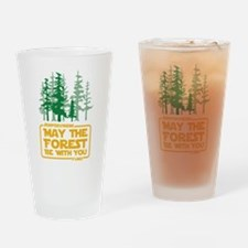 May the Forest Be With You Drinking Glass