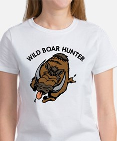 Wild Boar Hunter Women's T-Shirt