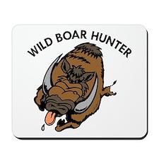 Wild Boar Hunter Mousepad