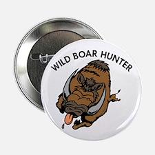 "Wild Boar Hunter 2.25"" Button (100 pack)"