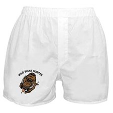 Wild Boar Hunter Boxer Shorts
