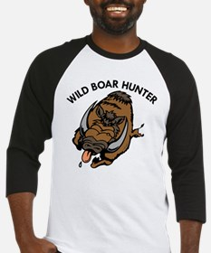 Wild Boar Hunter Baseball Jersey