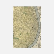 Cool Cartography map Rectangle Magnet