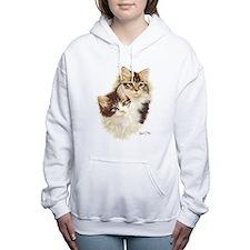 Cute Kittens Women's Hooded Sweatshirt